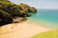 Bossiney Haven at low tide