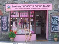 Granny Wobbly's Fudge Pantry in Tintagel
