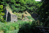 The ruins of Trewethet Mill at Rocky Valley near Tintagel